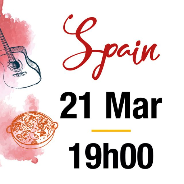 21 March – Spanish Party