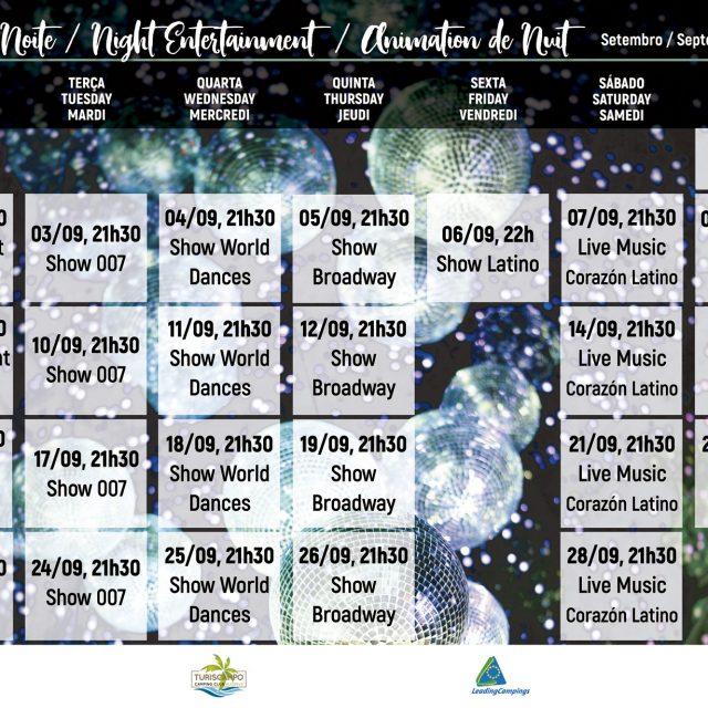 Night Entertainment – September