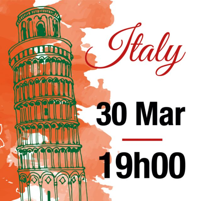 Italian Party – 30 March
