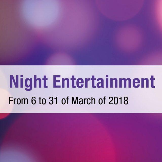 Março – noites